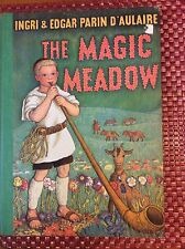 Rare Vintage Book The Magic Meadow Ingri & Edgar D'Aulaire 1958 1st Edition HC