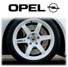OPEL  ALLOY WHEEL WHEELS STICKERS DECALS GRAPHICS X6