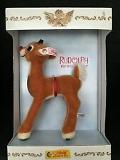 Steiff Rudolph The Red Nosed Reindeer North American Christmas Exclusives 2004