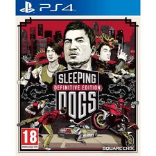 Sleeping DOGS DEFINITIVE GIOCO ps4 NUOVO di zecca