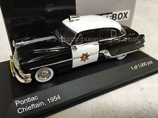 Whitebox 1/43 CHP California Highway Patrol 1954 Pontiac Chieftain Police Car