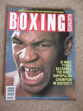 OCTOBER 1988 BOXING ILLUSTRATED MAGAZINE  MIKE TYSON  COVER