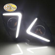 Sncn LED Daytime Running Light DRL Fog lamp for Toyota RAV4 RAV 4 2016 2017