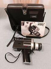 Vintage Canon Auto Zoom 518 Super 8 Film Camera w/ Case - Untested
