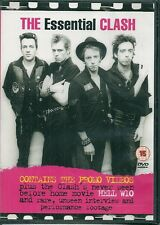 DVD ZONE 2 DOCUMENTAIRE--THE ESSENTIAL CLASH / PROMOS VIDEOS