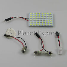 Panel 48 LED SMD C5W Festoon T10 W5W BA9S. Maletero, Interior... Blanco Xenon