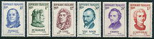FRANCE # 811 - 816 Very Fine Never Hinged Set - FAMOUS FRENCH RESIDENTS - S5631