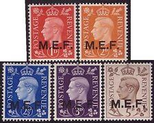 OCCUPAZIONE INGLESE 1942 - M.E.F. n. 1/5 INTEGRI SPL € 500