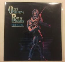 Ozzy Osbourne Randy Rhoads Tribute 2 X LP Gatefold CBS 1987 Rock Metal. Promo