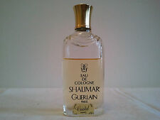 Vintage Guerlain SHALIMAR 25ml EDC Splash Used Women's Perfume Fragrance Rare