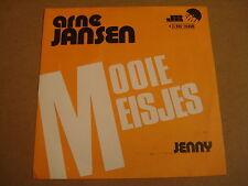 45T SINGLE / ARNE JANSEN - MOOIE MEISJES