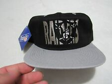 NWT VINTAGE LOS ANGELES LA RAIDERS APPAREL 1 SNAPBACK HAT BRAND NEW OAKLAND