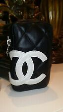 CHANEL with CC Logo Pouch/ Bag / Cigarette Case / Purse/ Card Holder