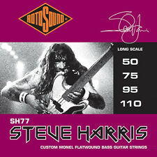 Rotosound Steve Harris SH77 Flatwound Electric Bass Strings