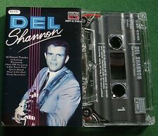 Del Shannon Self Titled inc Hats Off To Larry + Cassette Tape - TESTED