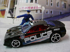 2013/2014 CITY WORKS Design Ex RAPID TRANSIT☆Black;white POLICE☆LOOSE☆Hot Wheels