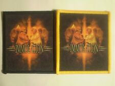 Immolation - Hope And Horror Sublimated Patch INCANTATION DECEASED MASSACRE DEAD