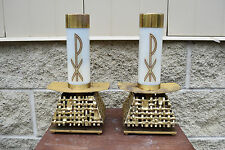 + Pair of Altar Candlesticks + + + chalice co. (#813)