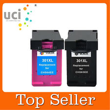 2 Compatible Ink Cartridge For HP 301XL Deskjet 2540 3050A 3055A All-in-One