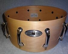 """Mint Pearl maple snare shell/w mounted hardware: 6.5 x 14"""", new Task Specific"""