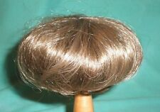"doll wig brown 11"" to 11.5"" Wancke short haircut, also f. boy dolls"