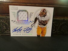 National Treasures Materials Auto Jersey Redskins London Fletcher 16/25  2012