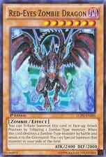 Red-Eyes Zombie Dragon (Monster Card) (Holographic Image & Letters) (SDZW-EN001)
