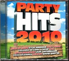 PARTY HITS 2010 - CD COMPILATION NEUF ET SOUS CELLO