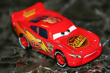 "DISNEY PIXAR CARS ""DETERMINED McQUEEN "" NEW, HARD PLASTIC TIRES, LOOSE"