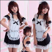 Sexy Schulmädchen Kostüm Maid Costume Cosplay Kostüm Uniform Unterwäsche Dress
