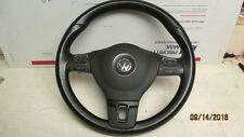 VW MK6 STEERING WHEEL 3 SPOKE MULTI FUNCTION TDI GOLF 2010-2014 OEM