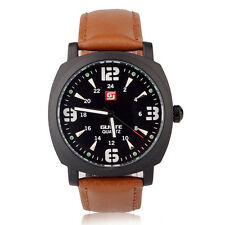 GUOTE Brand Fashion Men's Quartz Watch (black)