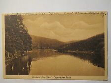 Gruss aus dem Harz - Grumbacher Teich - 1925 / AK