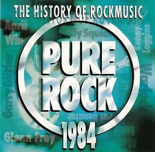 THE HISTORY OF ROCKMUSIC - PURE ROCK 1984 / CD - TOP-ZUSTAND