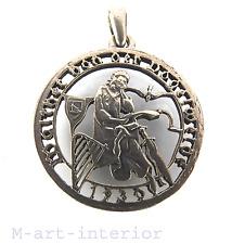 Silbermünze 2 Silber Schilling Anhänger Pendant Vogelweide Entwurf E. Smith 1930