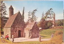 Irish Postcard ST KEVIN'S KITCHEN Church GLENDALOUGH Wicklow Ireland NPO Foto