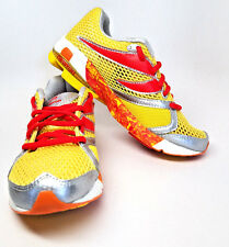 NEWTON DISTANCE S 5 Women 3.5 Kids Stability Racer Sneakers Running Yellow Red