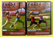 Pulse Yoga: Basic & Express ~ New DVD  Argie Tang Exercise Workout Video Fitness