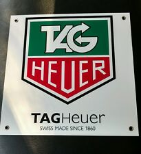 Tag Heuer Watch Pilot Airline Race ......large sign