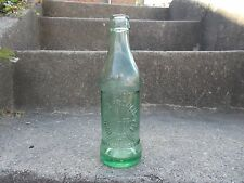 AVON PARK,FL J.S.FRANCIS COCA COLA PAT.1923 PROPRIETARY SODA BOTTLE LIGHT GREEN