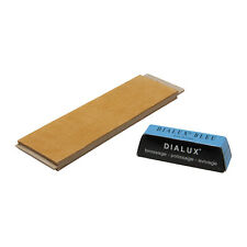 Leather Sharpening Strop & Metal Polishing Compound