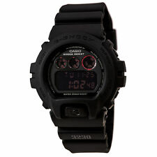CASIO MEN'S G-SHOCK MILITARY BLACK WATCH DW6900MS-1