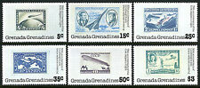 Grenada Grenadines 263-268,MNH.Lindbergh's Trans-Atlantic flight, 50th ann. 1978