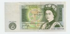 Bank of England - One Pound Bank Note ~ 1997-1984