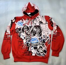 4F23 Hip-Hop Ecko Unltd  Hoodie Coat Cotton Rhino Graffiti Sweater Sweatshirt