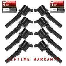 SET OF 8 IGNITION COIL  DG508 & 8 MOTORCRAFT SPARK PLUG SP479 IC008 F523 DG508
