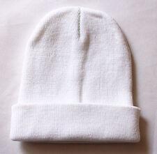 Plain Beanie Unisex men and women Warm Ski Cap Winter Knitting Hat Cap one size