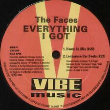 THE FACES (JOHNNY D & NICKY P) - Everything I Got / Come On Baby - Vibe Music