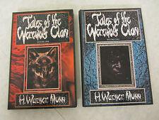 Tales of the Werewolf Clan Volume 1 & 2 ~ H. Warner Munn 1st Ed. Limited HC