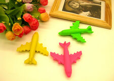 3pcs Novelty Airplane Rubber Erasers Party Gift Bag Fillers Christmas Stocking